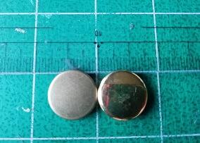 バネホック スナップボタンのヘッド部分